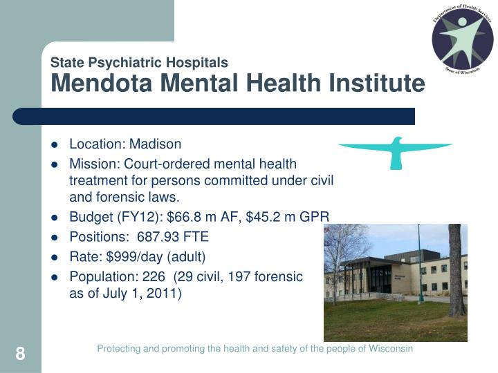 State Psychiatric Hospitals