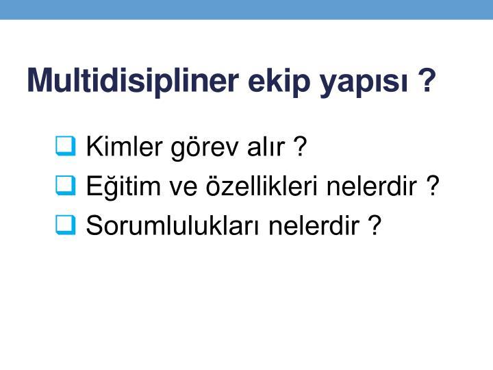 Multidisipliner
