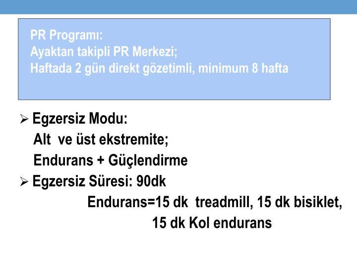 PR Programı: