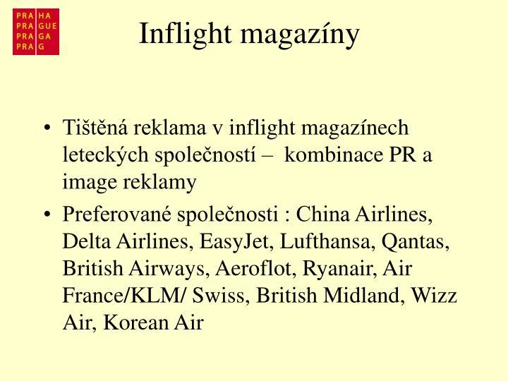 Inflight magazíny