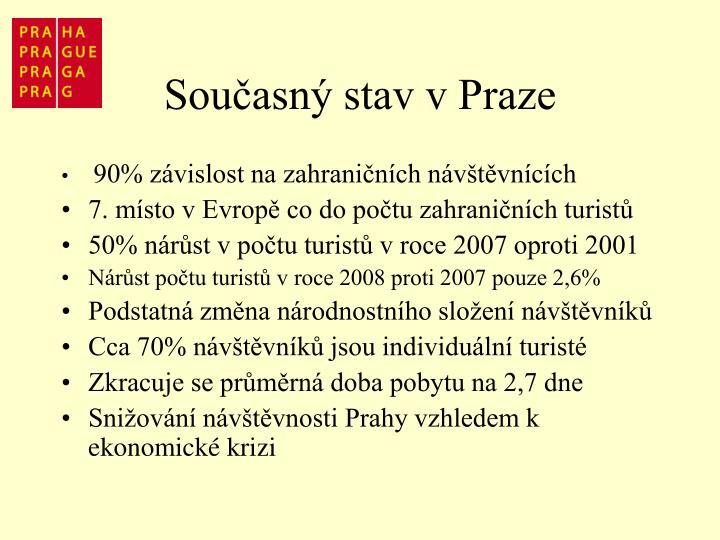 Současný stav v Praze