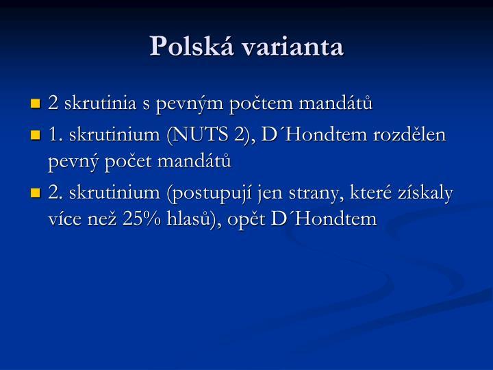 Polská varianta