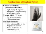 applications of nuclear power