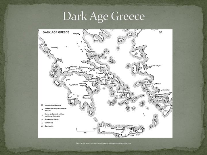 greek dark ages During the greek dark age, poets called bards traveled to different poli the bards told stories in the form of long poems called epics people would often pay to hear the bards describe stories of the distant past the bards would sing many of the epic poems while accompanied by a stringed.