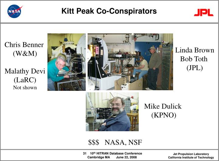 Kitt Peak Co-Conspirators