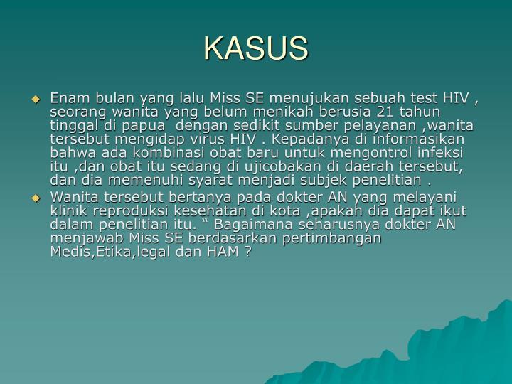 KASUS