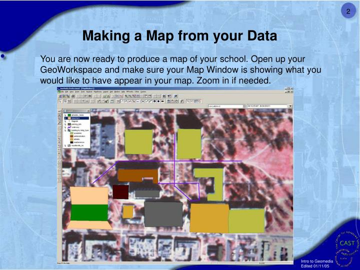 Making a Map from your Data