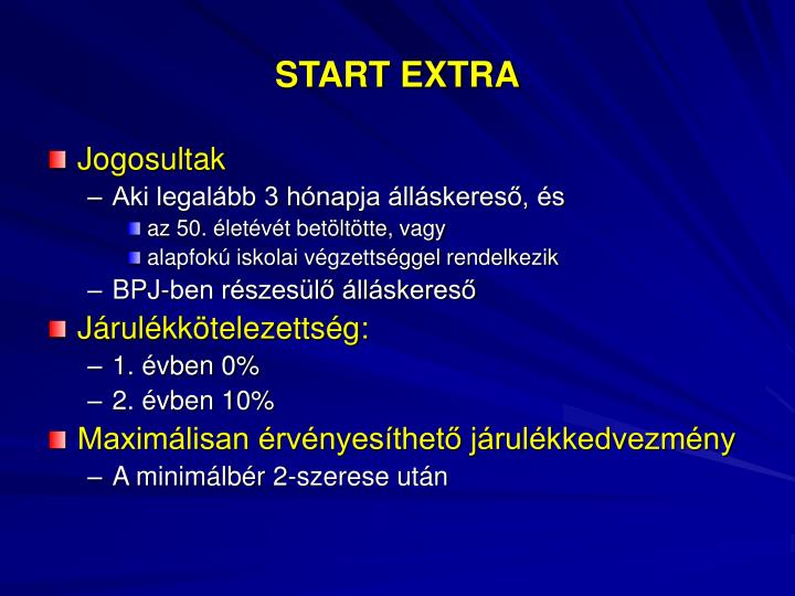 START EXTRA