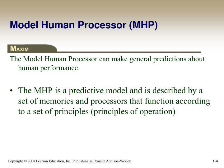 Model Human Processor (MHP)