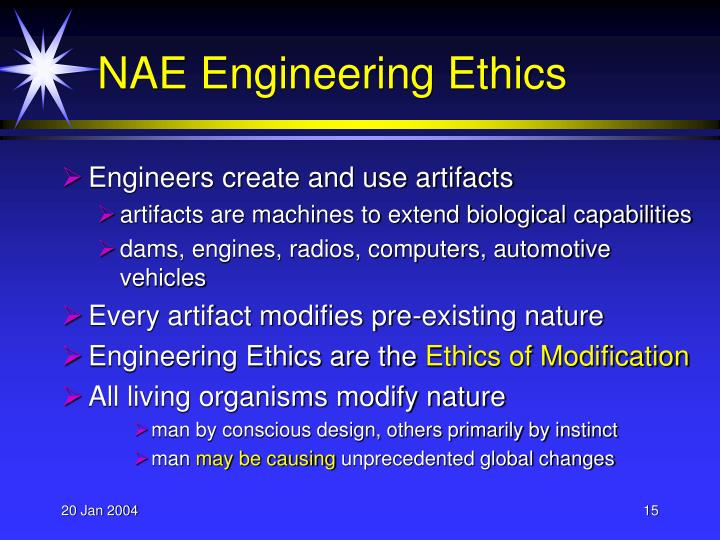 NAE Engineering Ethics