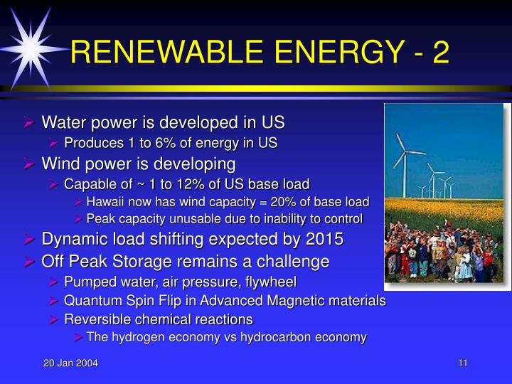 RENEWABLE ENERGY - 2