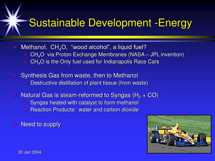 Sustainable Development -Energy