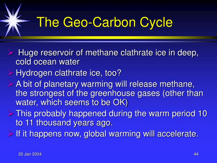 The Geo-Carbon Cycle
