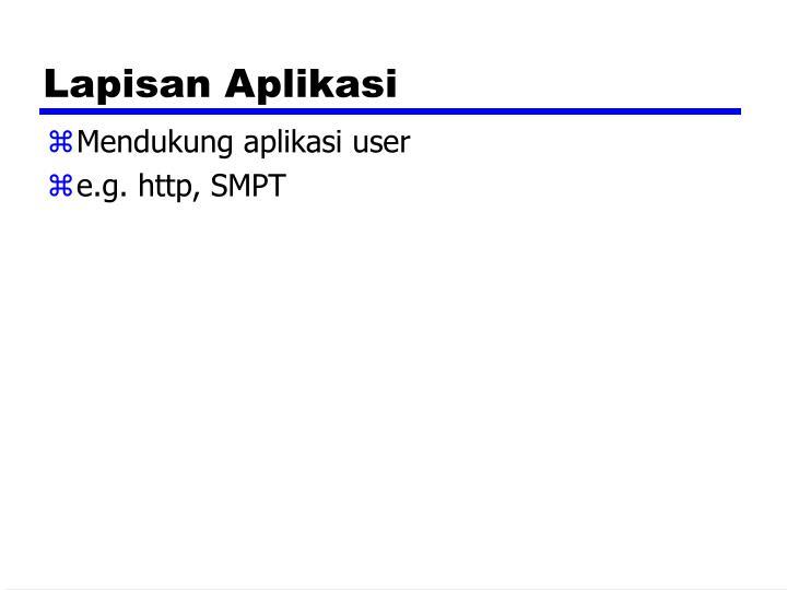 Lapisan Aplikasi