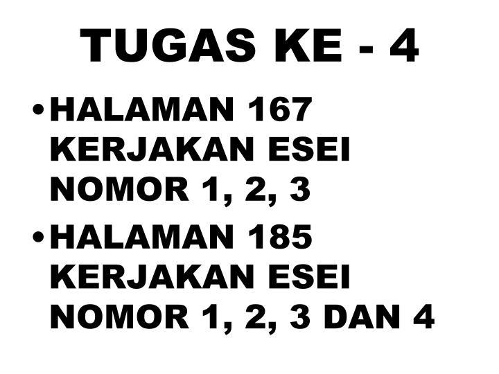 TUGAS KE - 4