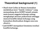 theoretical background 1