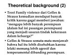 theoretical background 2