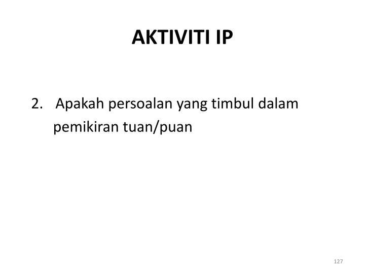 AKTIVITI IP