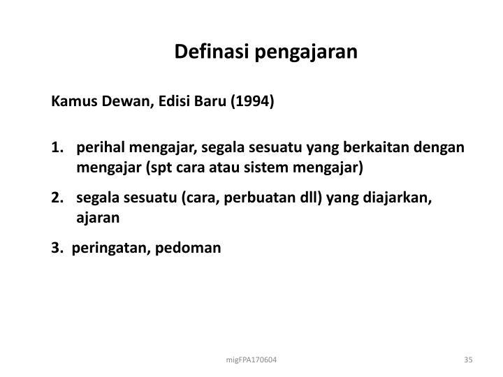 Definasi