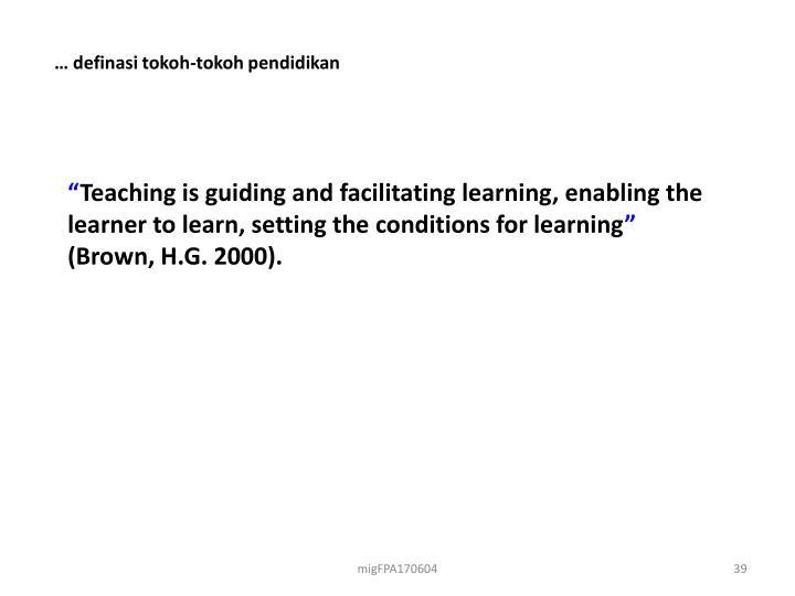 … definasi tokoh-tokoh pendidikan