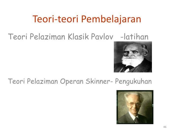 Teori-teori Pembelajaran