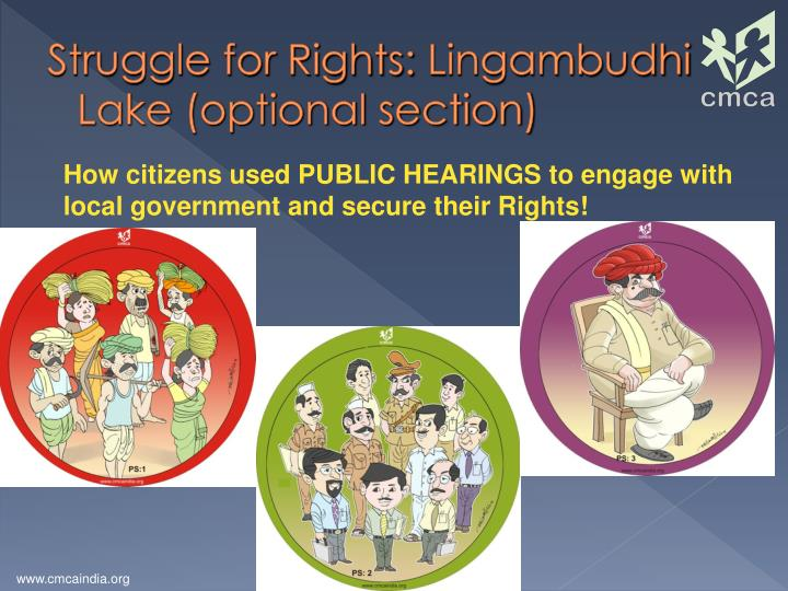 Struggle for Rights: