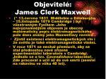objevitel james clerk maxwell