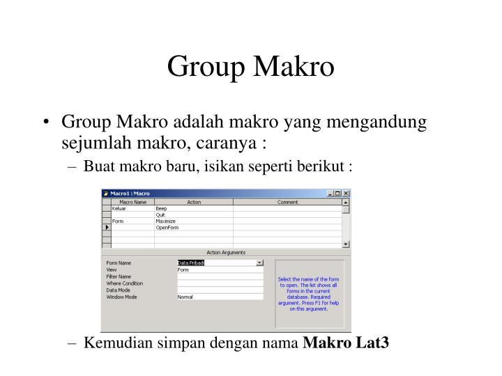 Group Makro