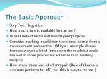 the basic approach1