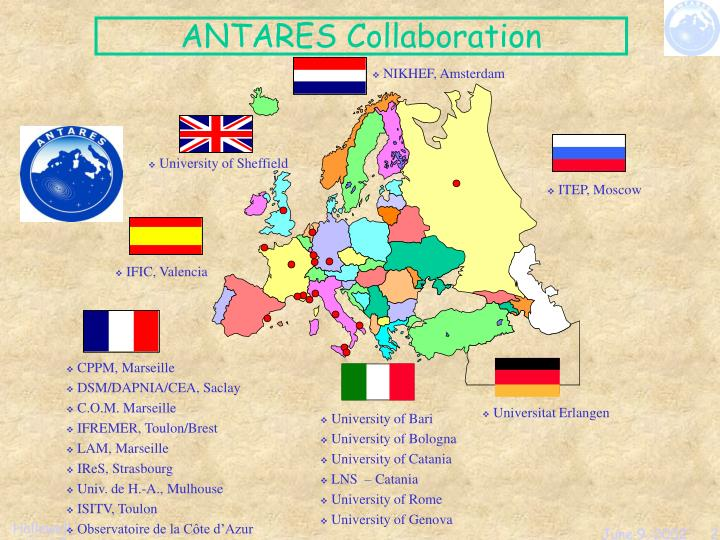 Antares collaboration