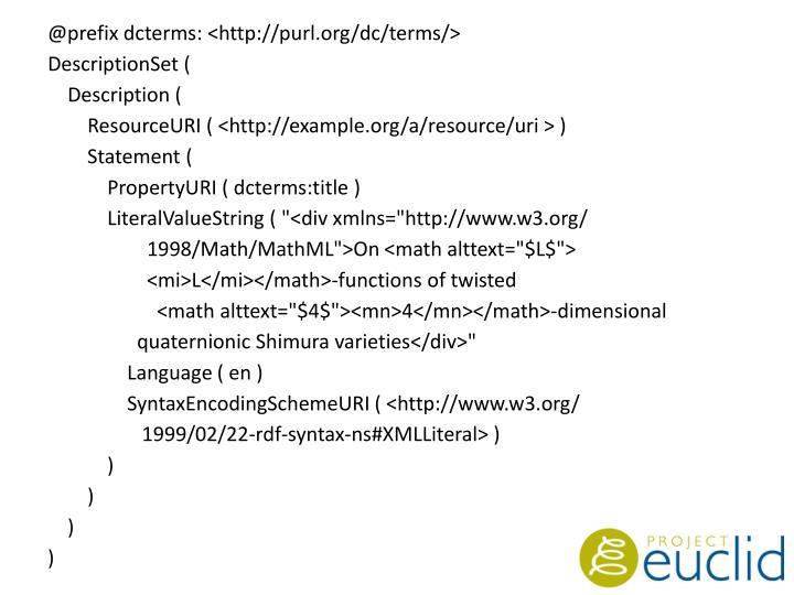 @prefix dcterms: <http://purl.org/dc/terms/>
