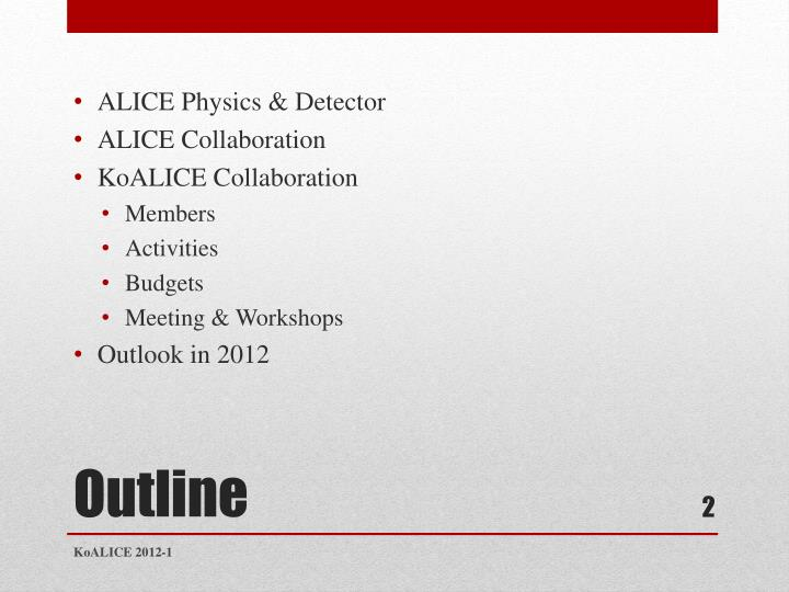 ALICE Physics & Detector