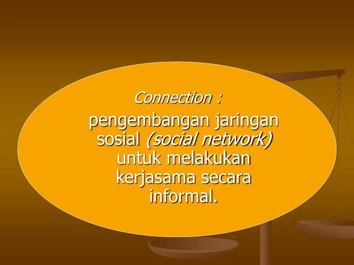 Connection :