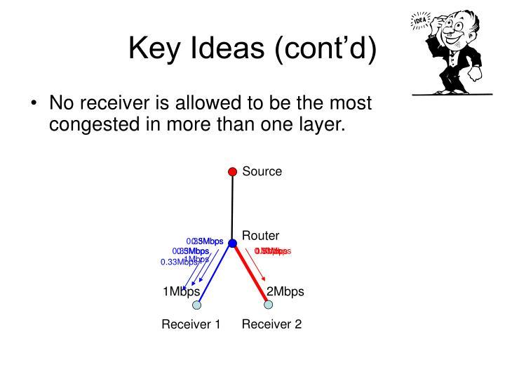 Key Ideas (cont'd)