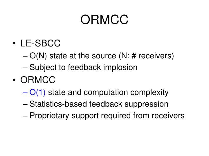 ORMCC