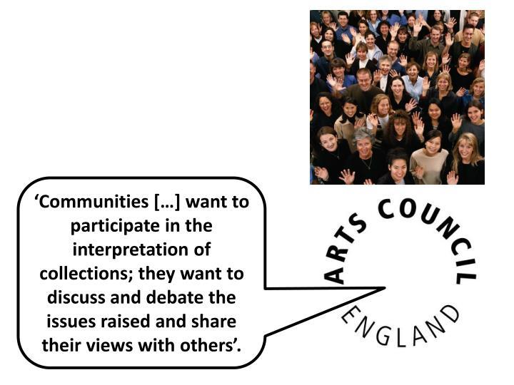 'Communities