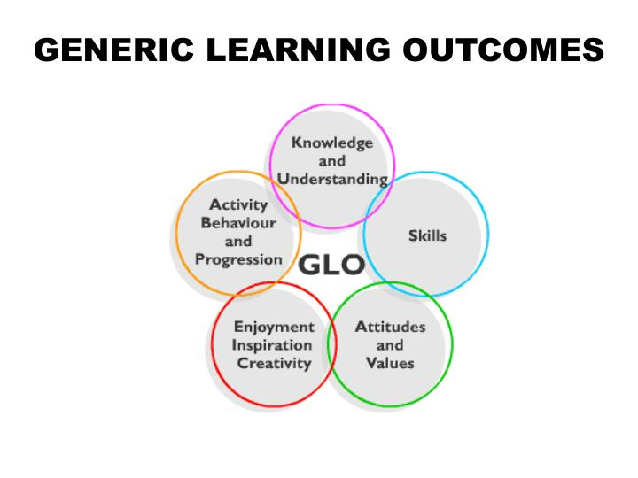 GENERIC LEARNING OUTCOMES