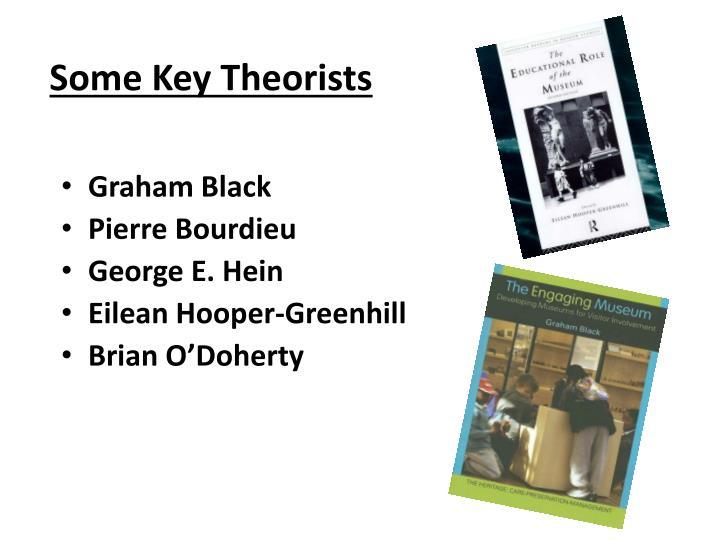 Some Key Theorists