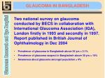 glaucoma in bangladesh