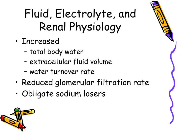 Fluid, Electrolyte, and Renal Physiology