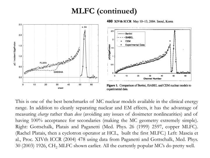 MLFC (continued)