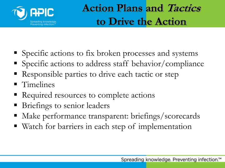 Action Plans and