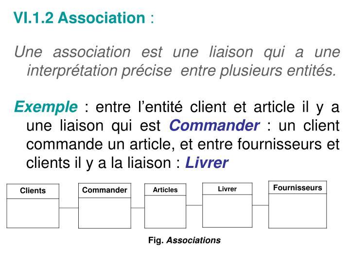 VI.1.2 Association