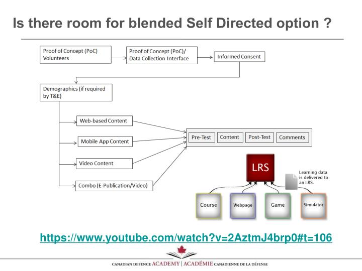 Is there room for blended Self Directed option ?