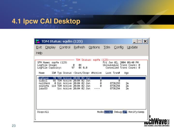 4.1 lpcw CAI Desktop