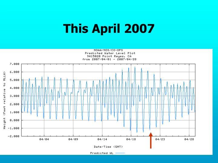 This April 2007