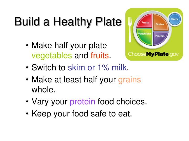 Build a Healthy Plate