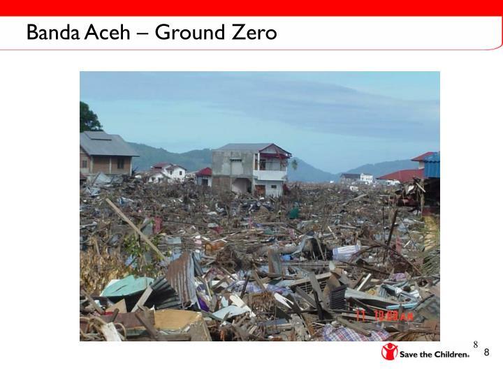 Banda Aceh – Ground Zero