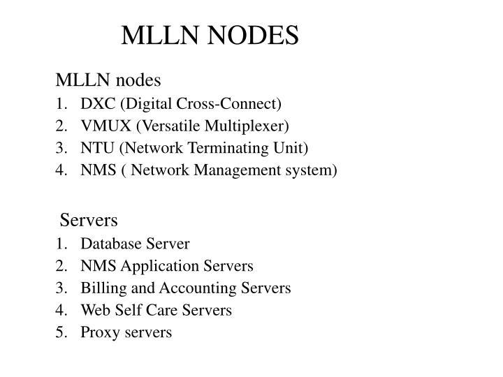 MLLN NODES