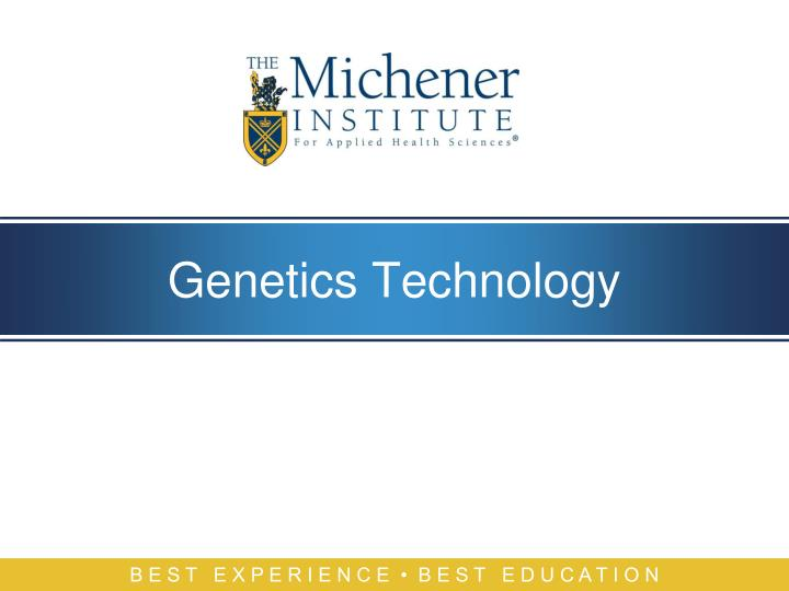 Genetics technology